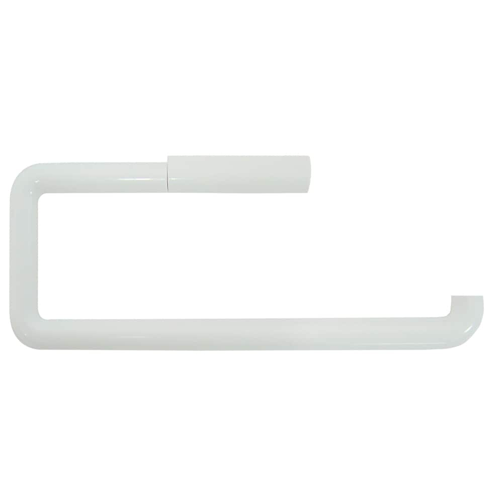 interDesign® White Paper Towel Holder