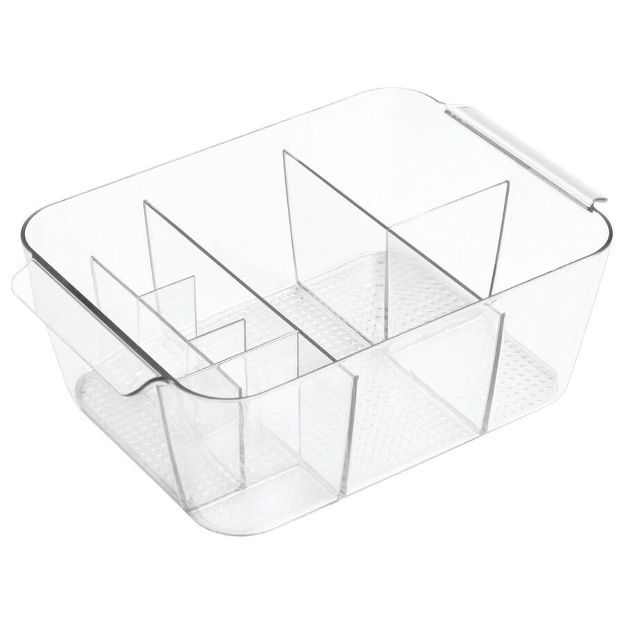 interDesign Clear Plastic Vanity Tray