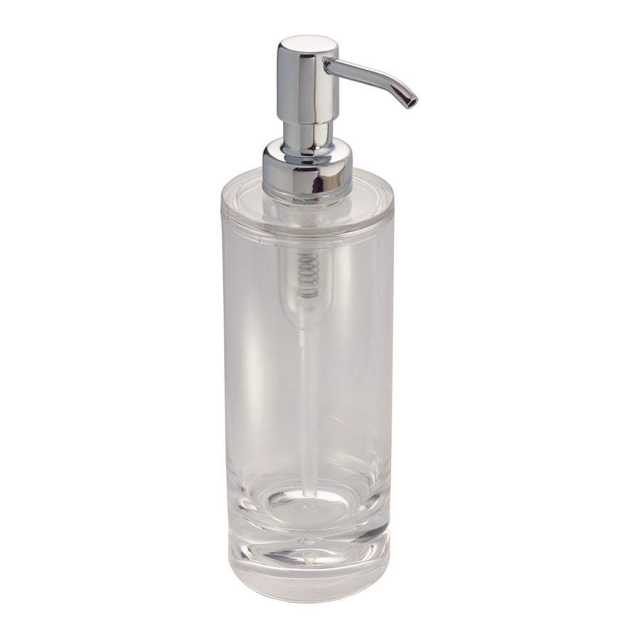 interDesign Eva Clear Clear Soap and Lotion Dispenser