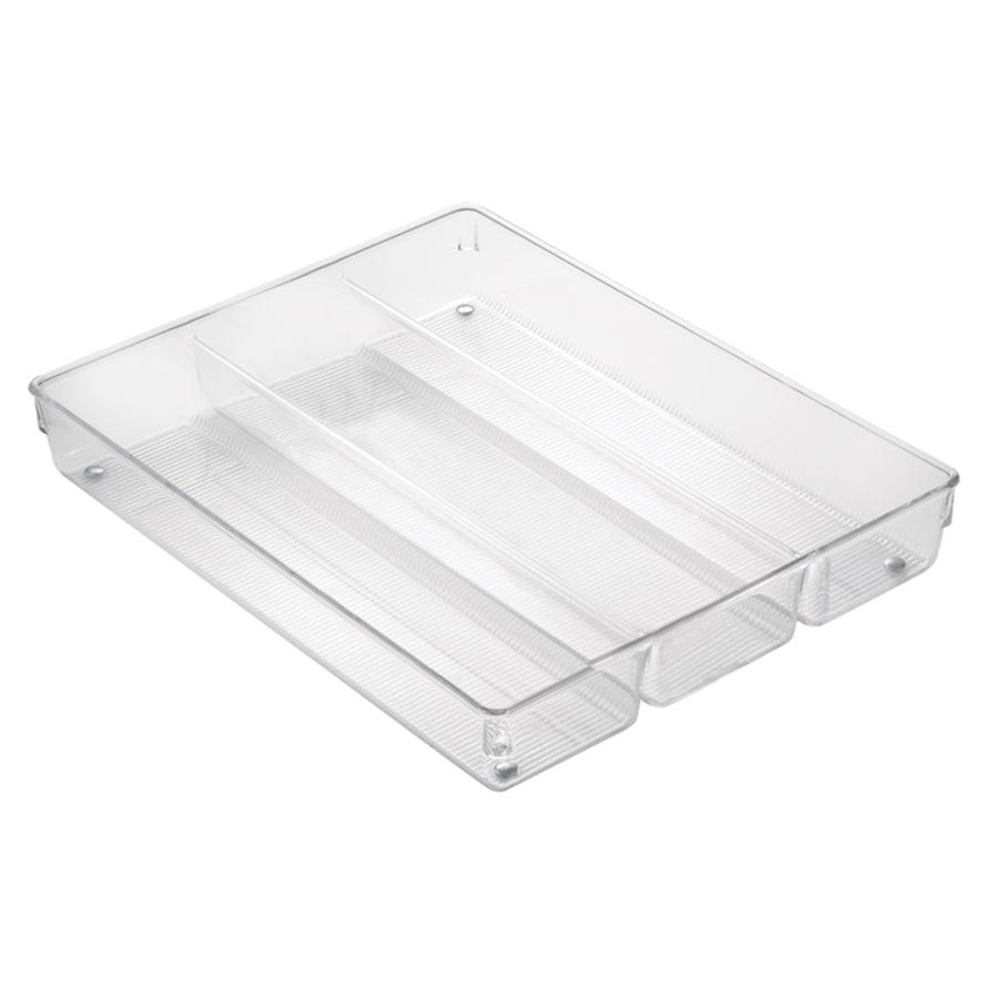 Interdesign 13 8 In X 10 6 Plastic Cutlery Insert Drawer Organizer