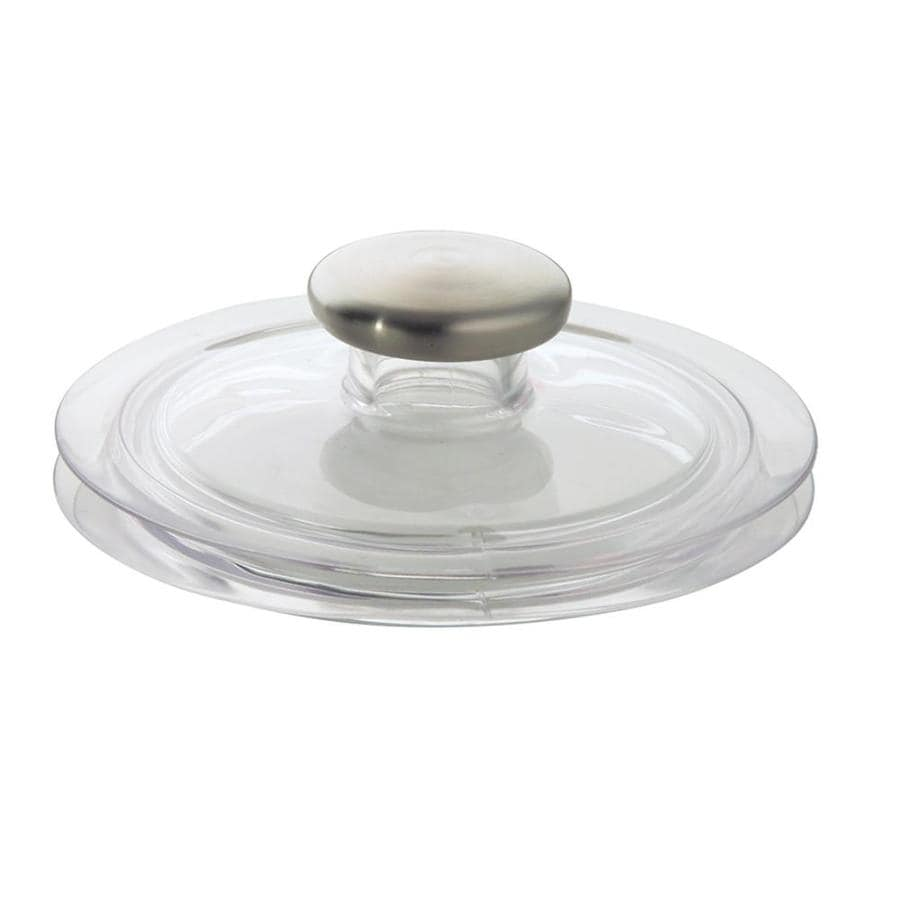 interDesign 0-in Clear Plastic Garbage Disposal Stopper