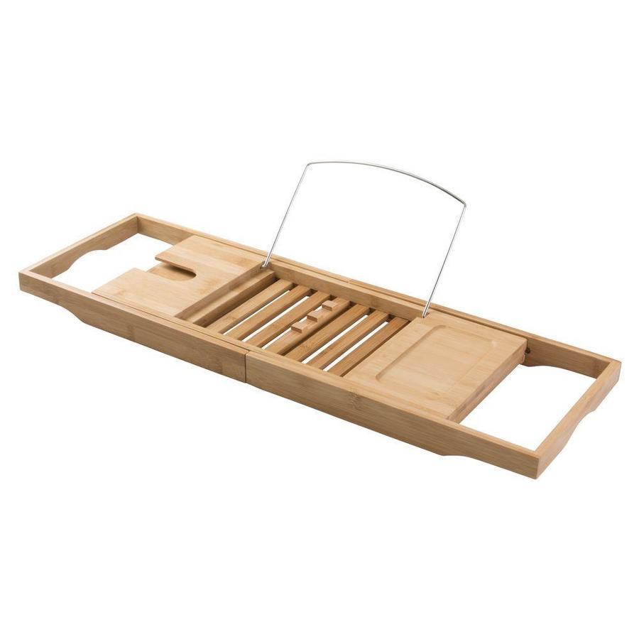 Shop interDesign natural Wood/Bamboo Bathtub Caddy at Lowes.com
