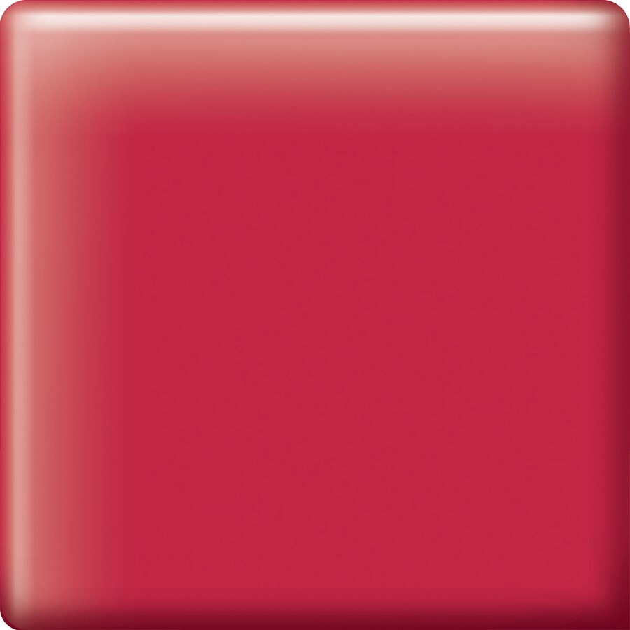 American Olean Bright Ruby Red Ceramic Mud Cap Corner Tile (Common: 2-in x 2-in; Actual: 2-in x 2-in)