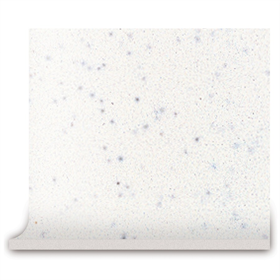 American Olean Bright Salt & Pepper Ceramic Cove Base Tile (Common: 4-in x 4-in; Actual: 4.25-in x 4.25-in)