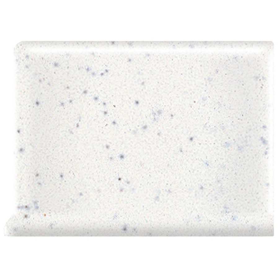 American Olean Bright Salt and Pepper Ceramic Cove Base Tile (Common: 6-in x 6-in; Actual: 6-in x 6-in)