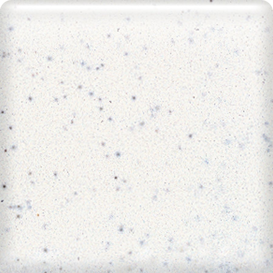 American Olean Bright Salt and Pepper Ceramic Bullnose Corner Tile (Common: 4-in x 4-in; Actual: 4.25-in x 4.25-in)