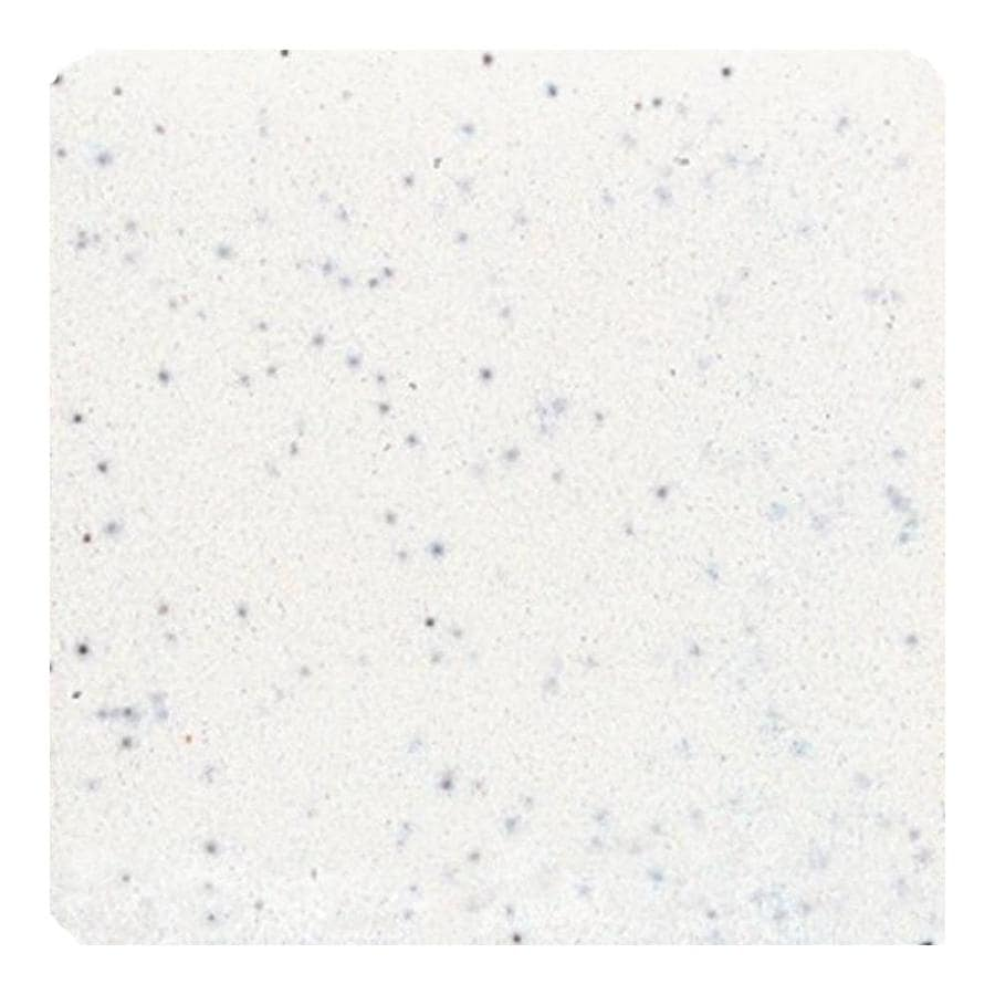 American Olean Bright Salt and Pepper Gloss Ceramic Bullnose Corner Tile (Common: 6-in x 6-in; Actual: 6-in x 6-in)