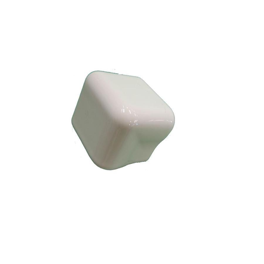 American Olean Starting Line White Gloss Ceramic Bullnose Tile (Common: 2-in x 2-in; Actual: 2-in x 2-in)