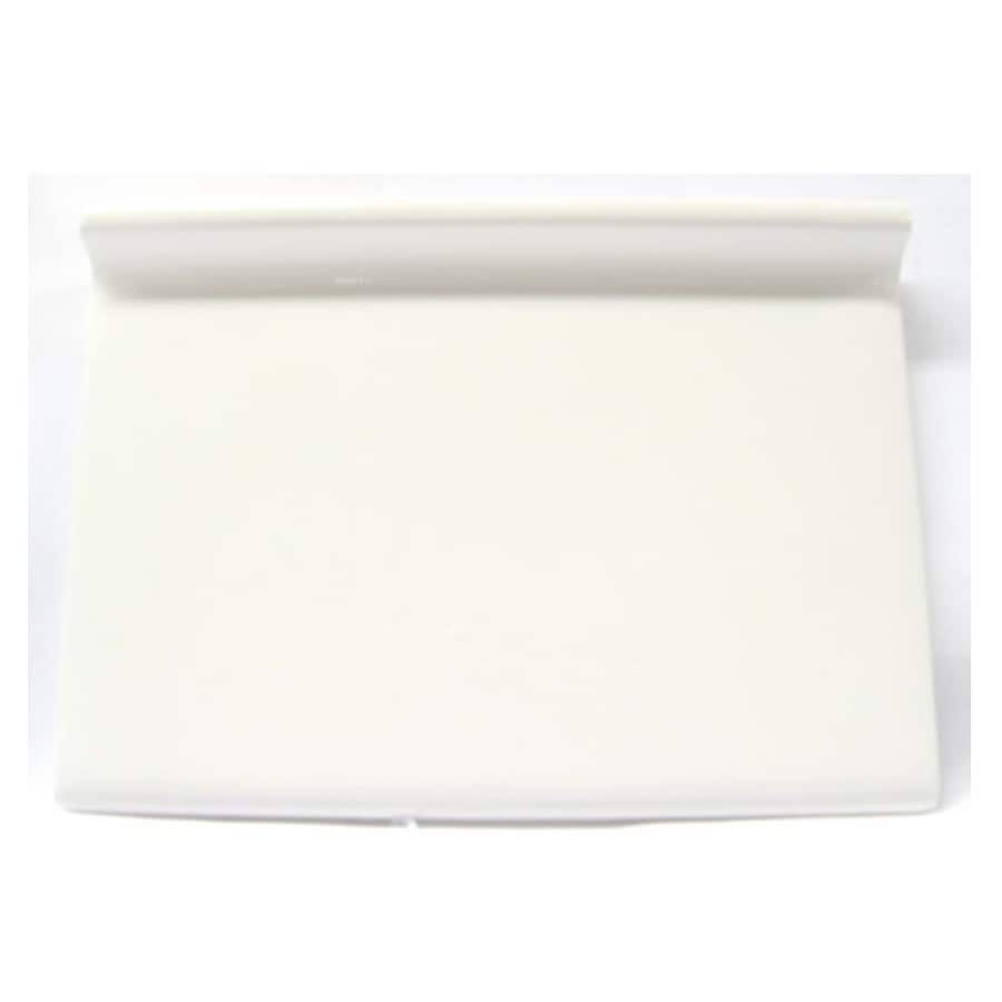 American Olean Starting Line White Gloss Ceramic Cove Base Tile (Common: 4-1/4-in x 6-in; Actual: 4.25-in x 6-in)