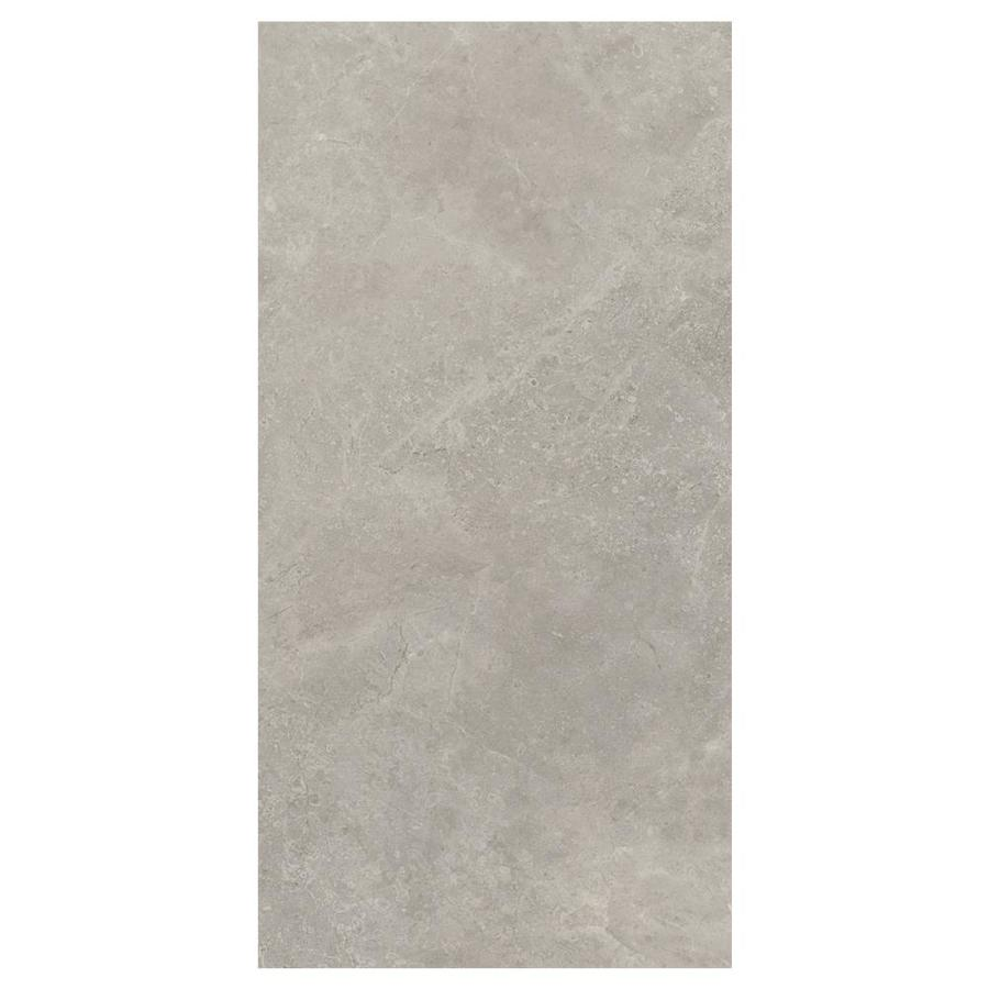 Shop American Olean Stoneview Sky Gray/Matte Porcelain Floor and ...