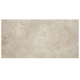 American Olean Tranquil Stone Warm Gray 12-in x 24-in Porcelain Tile (Common: 12-in x 24-in; Actual: 11.81-in x 23.81-in)