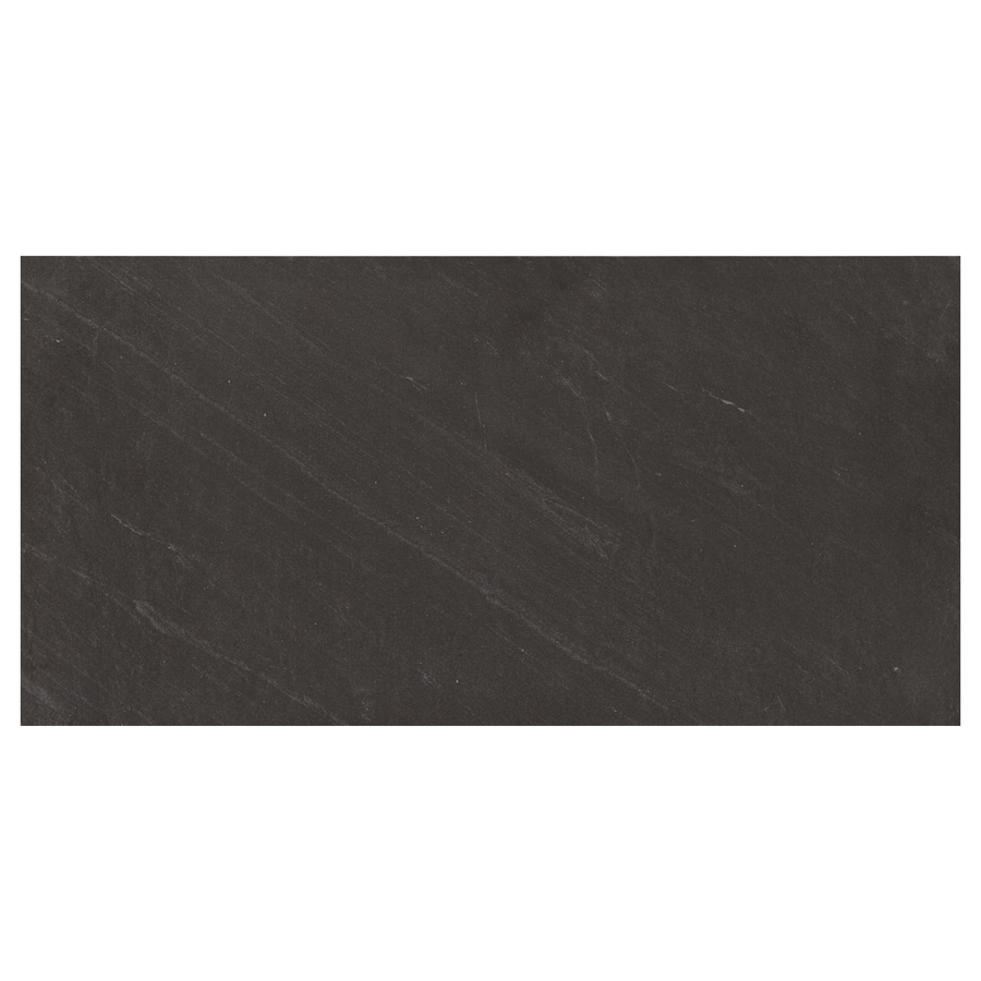 Shop American Olean Carbon Mist Slate Floor And Wall Tile Common