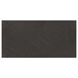 American Olean Carbon Mist Slate 12-in x 24-in Glazed Porcelain Stone Look Floor and Wall Tile