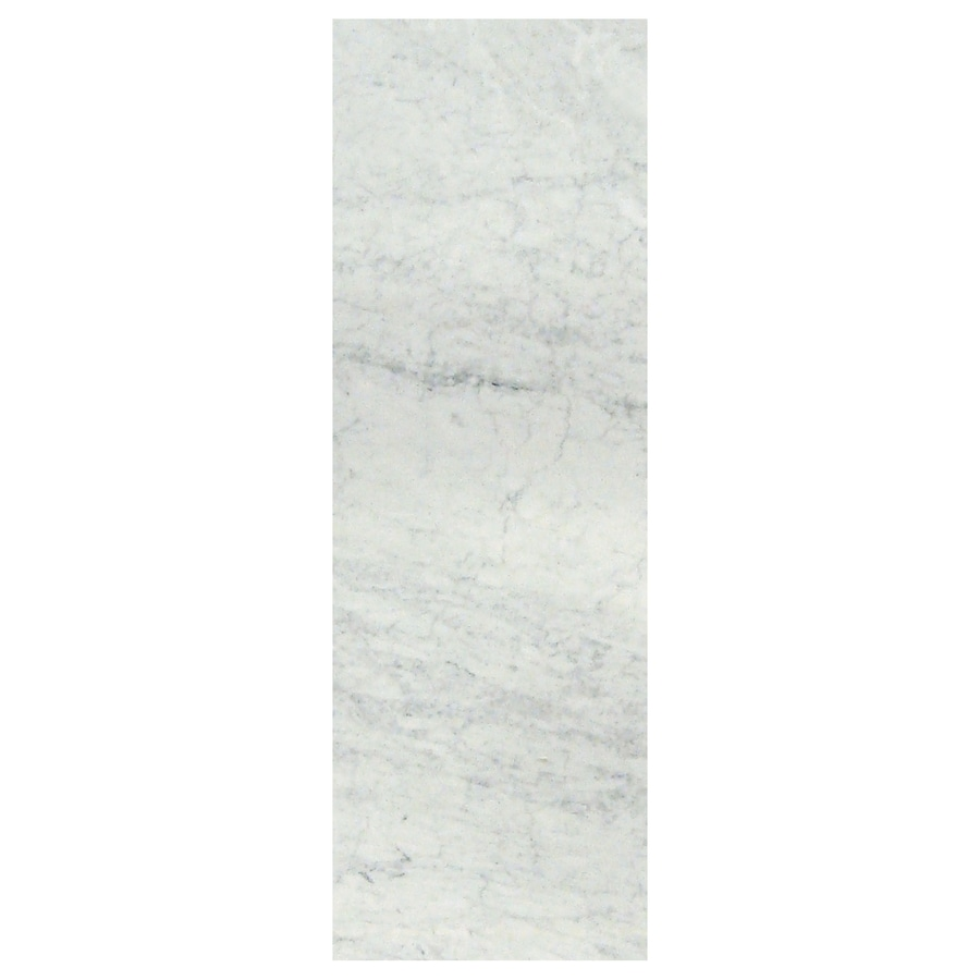 American Olean Mooreland Carrara White Ceramic Wall Tile (Common: 4-in x 12-in; Actual: 12.9-in x 4.29-in)