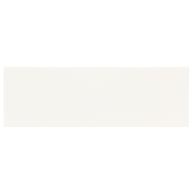 American Olean Starting Line Gloss White 6 In X 18 In