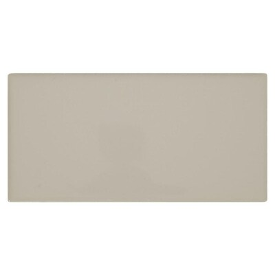Starting Line Gloss Gray 3 In X 6 Ceramic Subway Tile Common Actual 01 03
