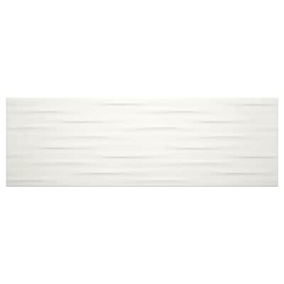 American Olean Elegant Structures Gloss White 8 In X 24 In
