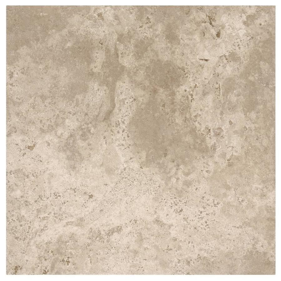 American Olean Grandview Smoke Gray Porcelain Floor and Wall Tile (Common: 18-in X 18-in; Actual: 17.79-in x 17.79-in)