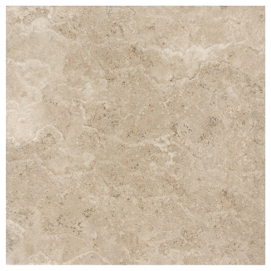 Shop American Olean Grandview Warm Sand Porcelain Floor And Wall