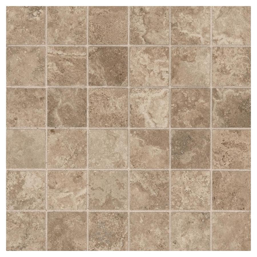 American olean grandview smoke stone 12 in x 12 in ceramic uniform squares mosaic floor and wall tile common 12 in x 12 in actual 12 in x 12 in