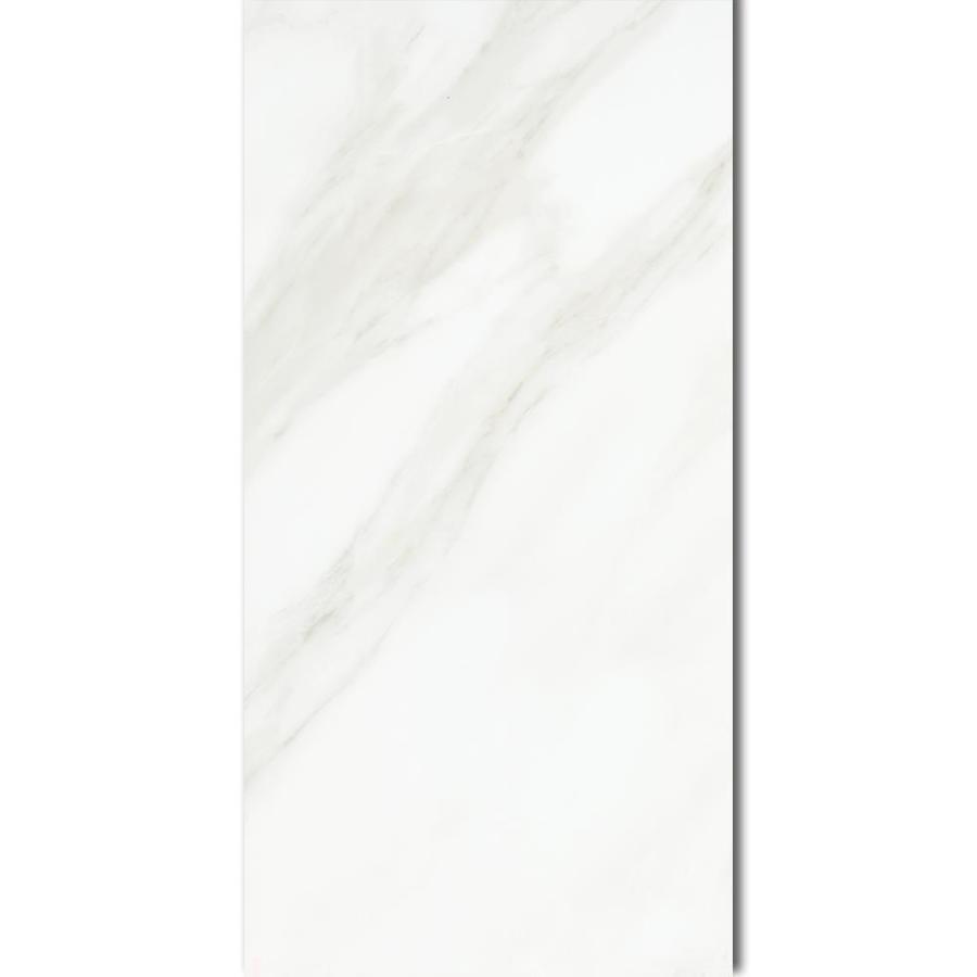 American Olean Mirasol Carrara Porcelain Tile Sample Common 6 In X