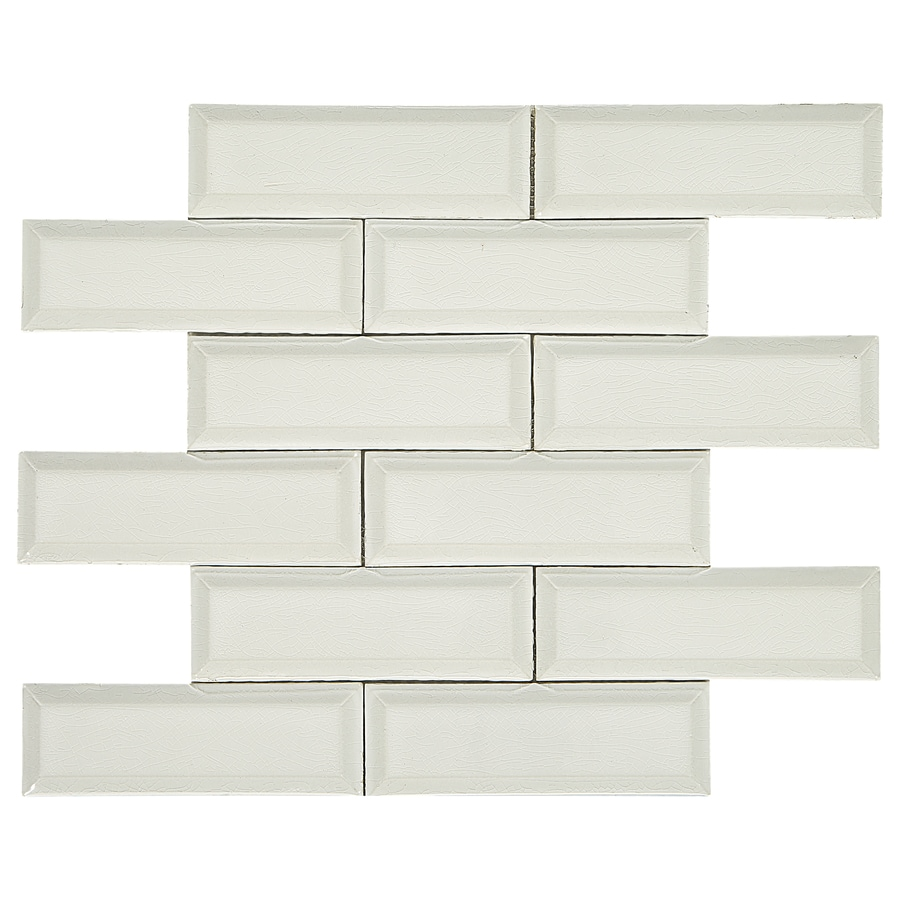 American Olean Union View Shell White 11 In X 13 In