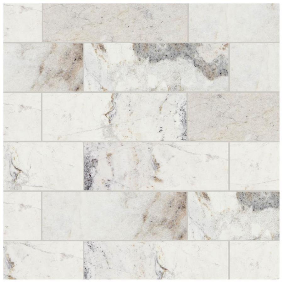 American Olean Genuine Stone White