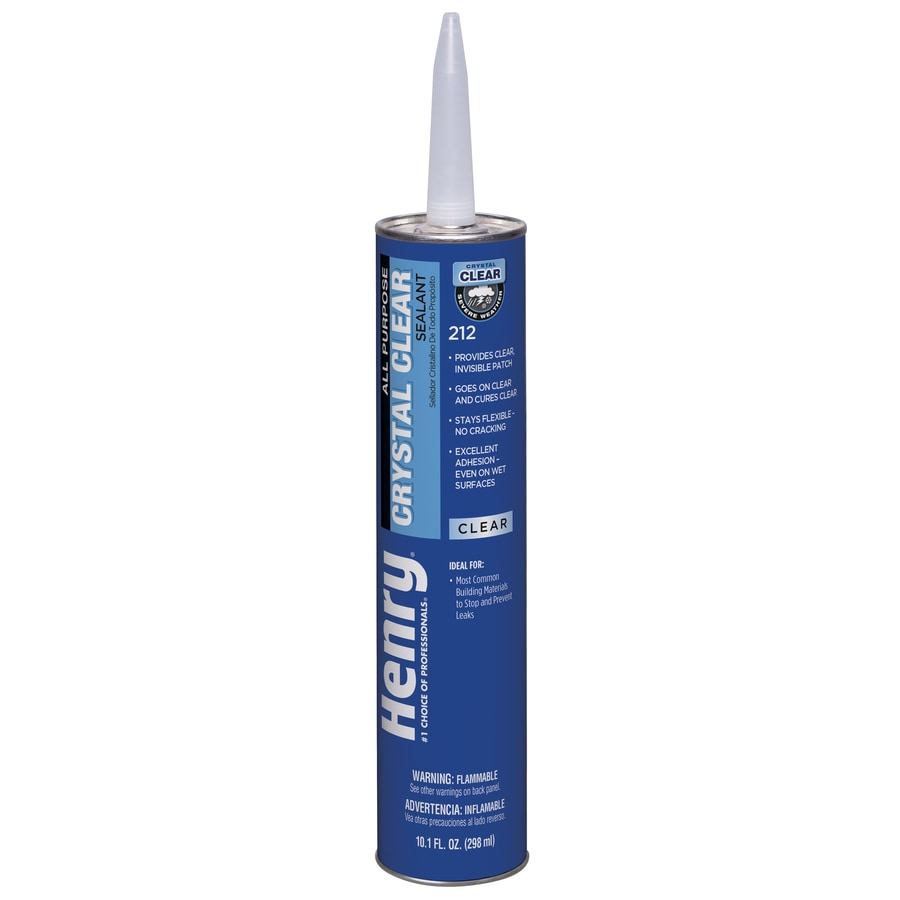 Henry Company Crystal Clear 10-fl oz Waterproofer Roof Sealant