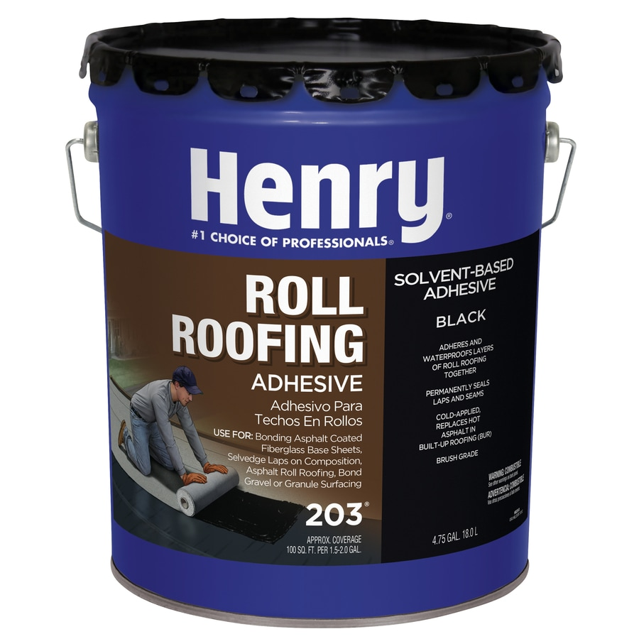 Shop Henry Company Roll Roofing Adhesive 640 Fl Oz Roof