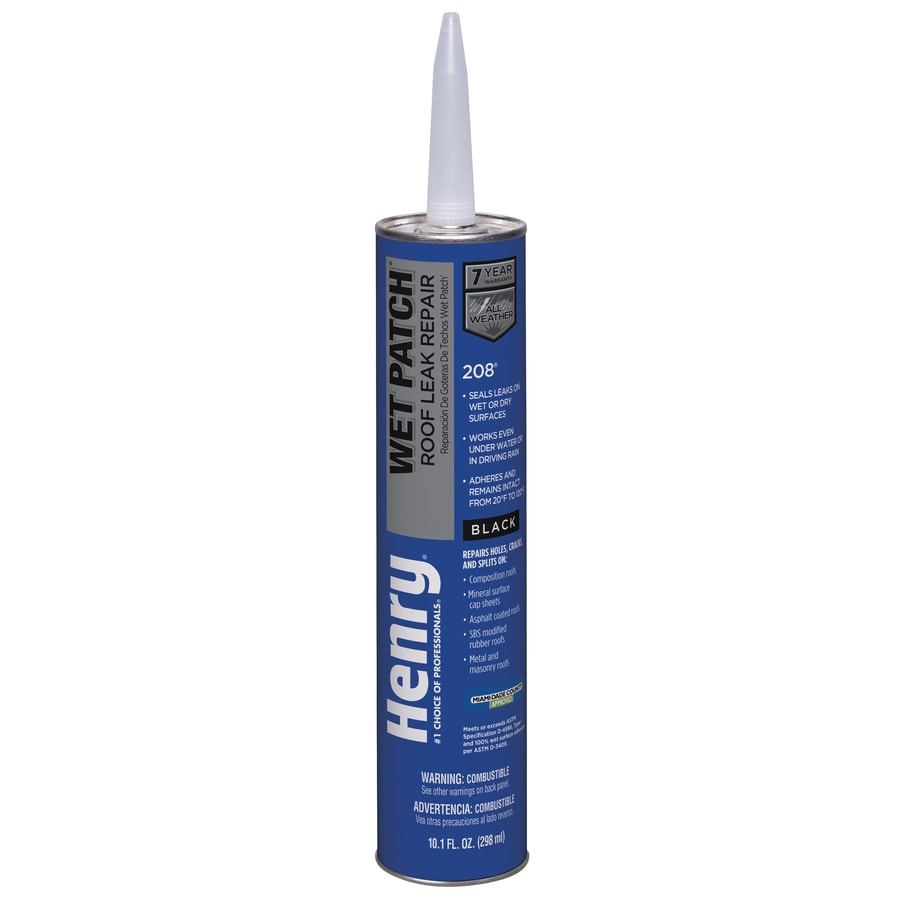 Henry Company Wet Patch 10-fl oz Waterproofer Cement Roof Sealant