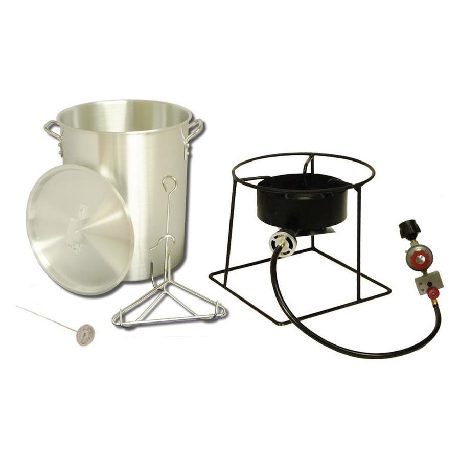 King Kooker 29-Quart 20-lb Cylinder Manual Ignition Gas Turkey Fryer