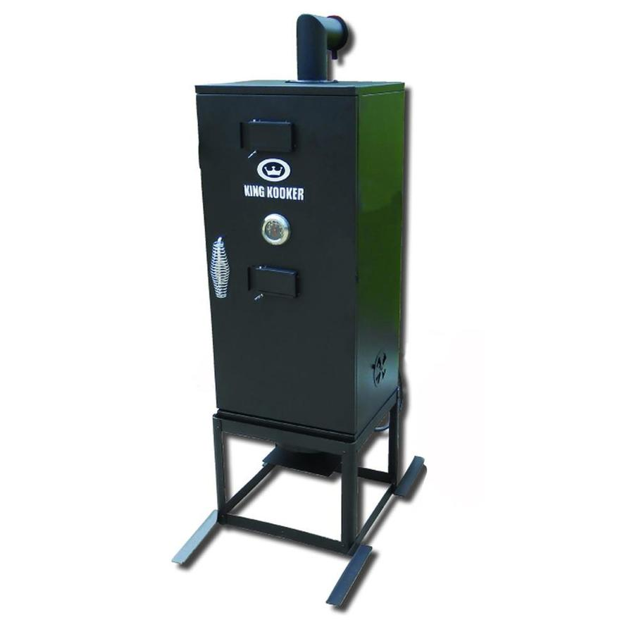 King Kooker 20-Lb. Cylinder Manual Ignition Gas Vertical Smoker (Common: 54-in; Actual: 54-in)