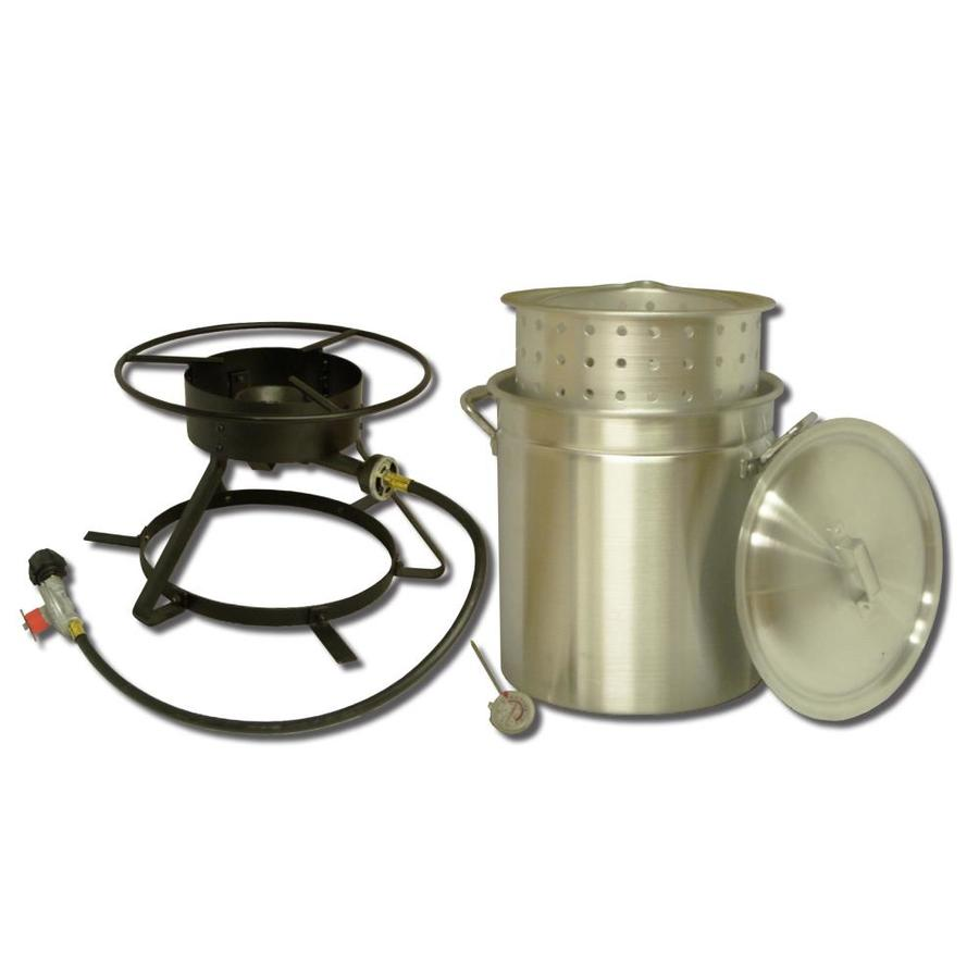 King Kooker 28-in Propane 20 Lb. Cylinder Manual Ignition Outdoor Stove