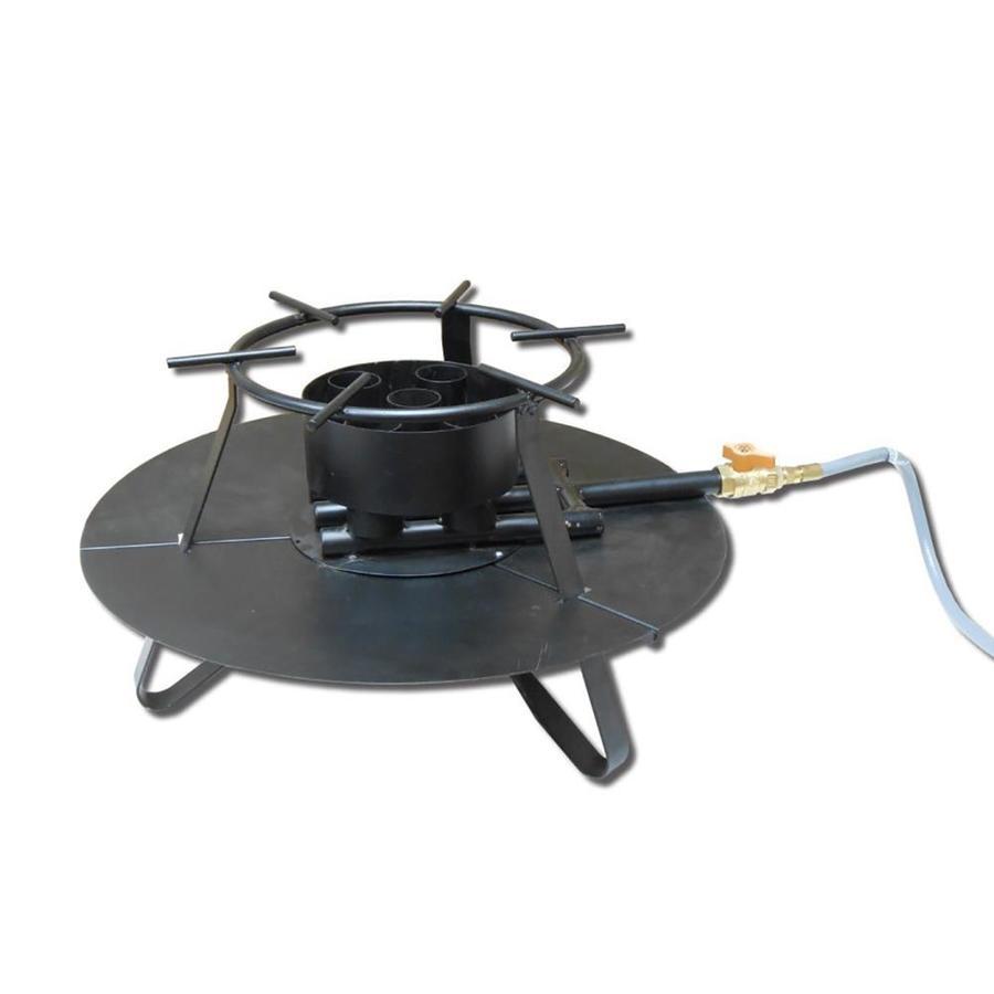 King Kooker 13.5-in 5-Burner Natural Gas 20-Lb Cylinder Manual Ignition Jet Cooker