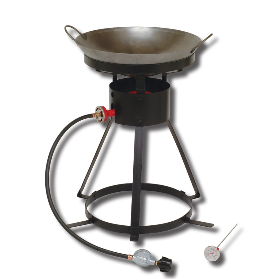 King Kooker 25.75-in Propane 20-lb Cylinder Manual Ignition Outdoor Burner