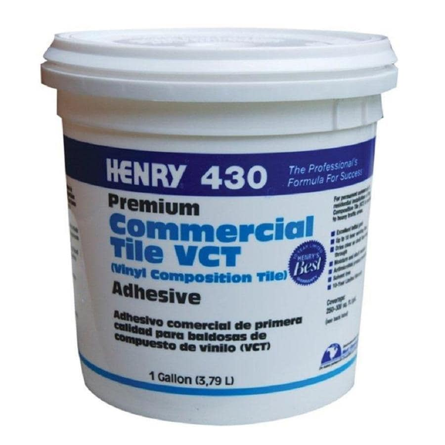 shop henry vct flooring adhesive 1 gallon at. Black Bedroom Furniture Sets. Home Design Ideas