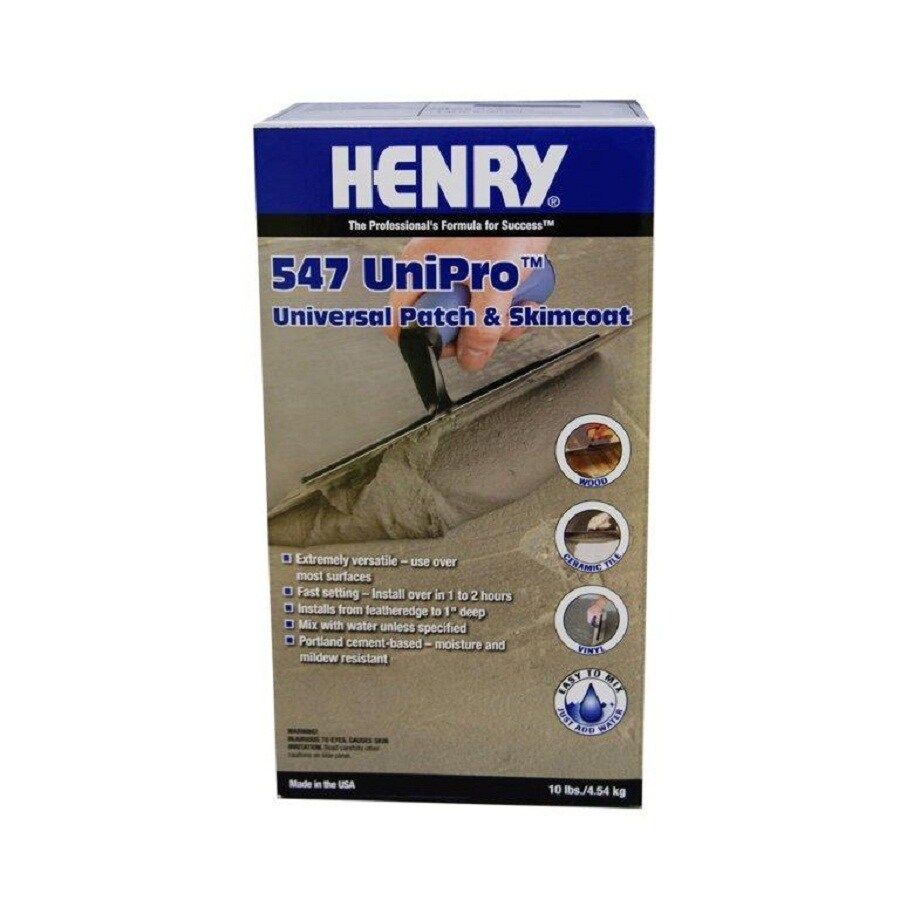 HENRY Gray and Silver Indoor Floor Patch and Leveler