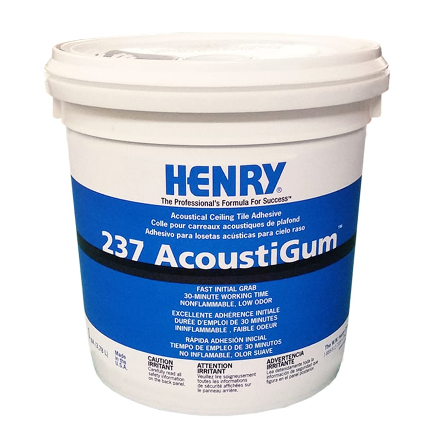 Henry Henry 237 Off-White Interior Ceiling Tile Adhesive (Actual Net Contents: 128-fl oz)