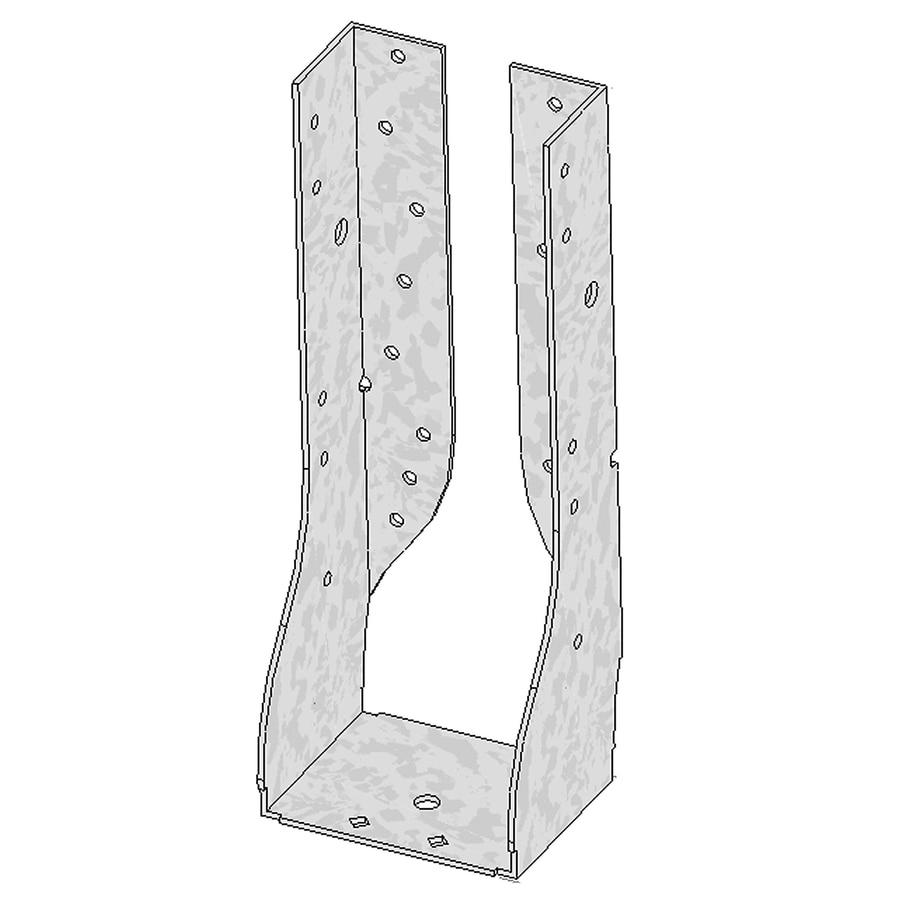 USP 4-in x 10-14-in Inverted Flange Face Mount Hanger