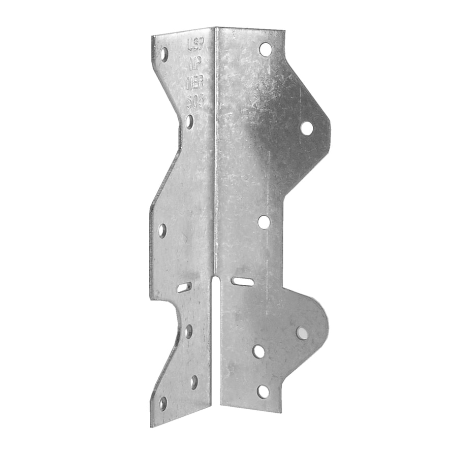 USP 1-1/2-in x 1-7/16-in x 4-1/2-in Framing Angle Triple Zinc