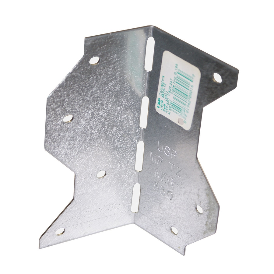 USP 2-1/4-in x 2-1/4-in x 4-5/8-in Triple Zinc Framing Angle