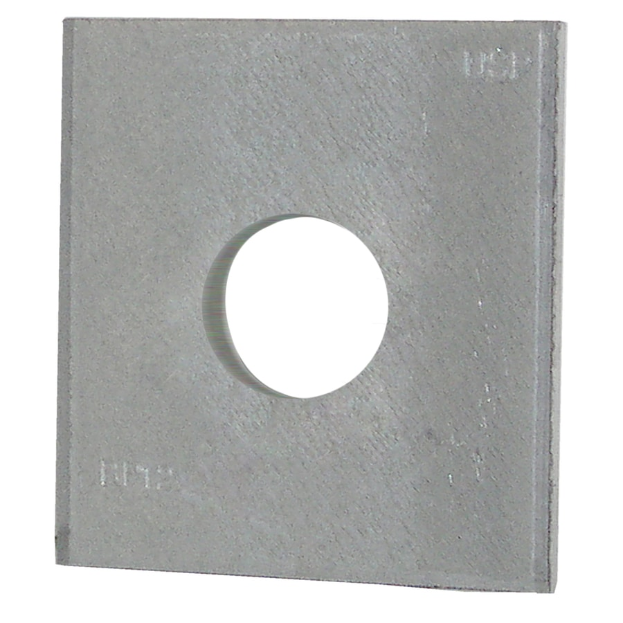 USP 2-in x 2-in Bearing Plate 1/2-in Bolt Dia