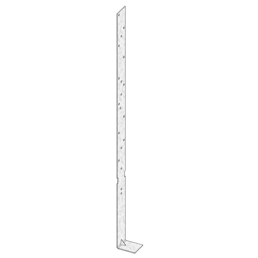 USP 1.25-in x 20-in Steel Concrete Foundation Strap