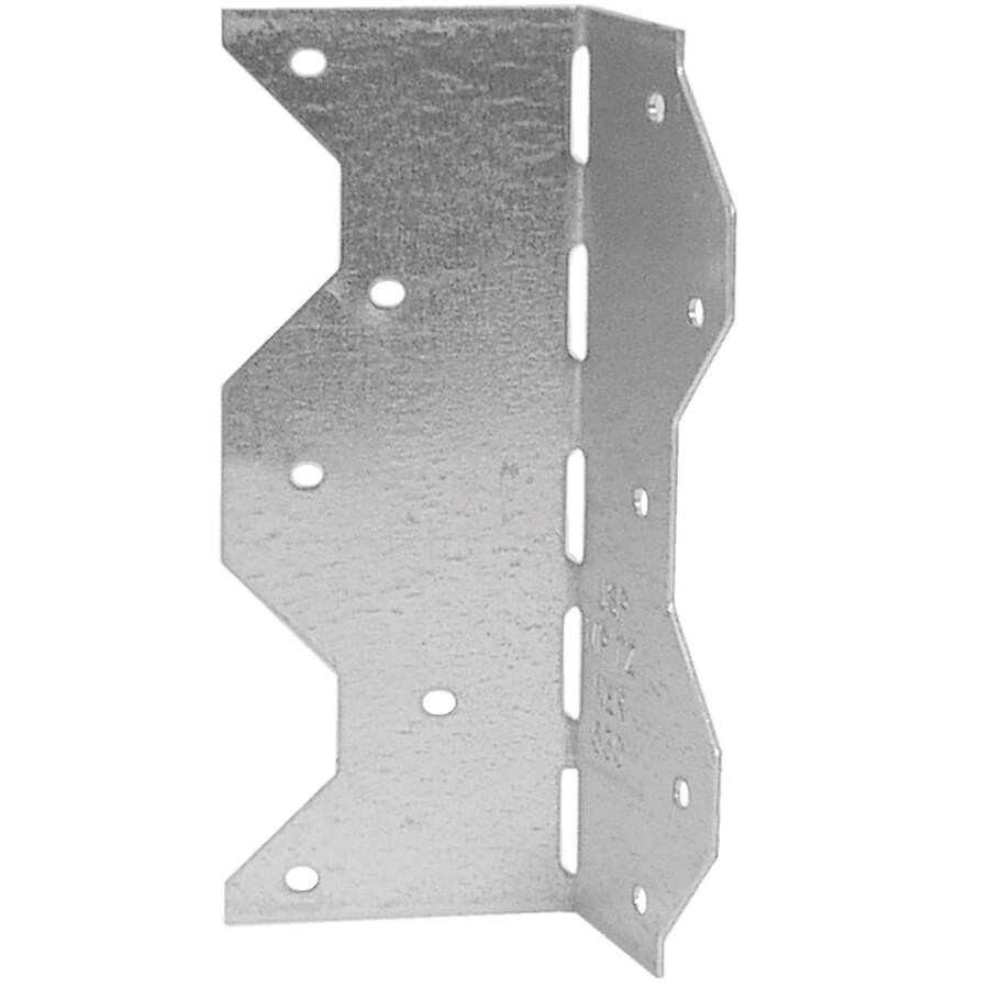 Shop USP 2-1/4-in 18-Gauge Wood to Wood Triple Zinc Framing Angle at ...