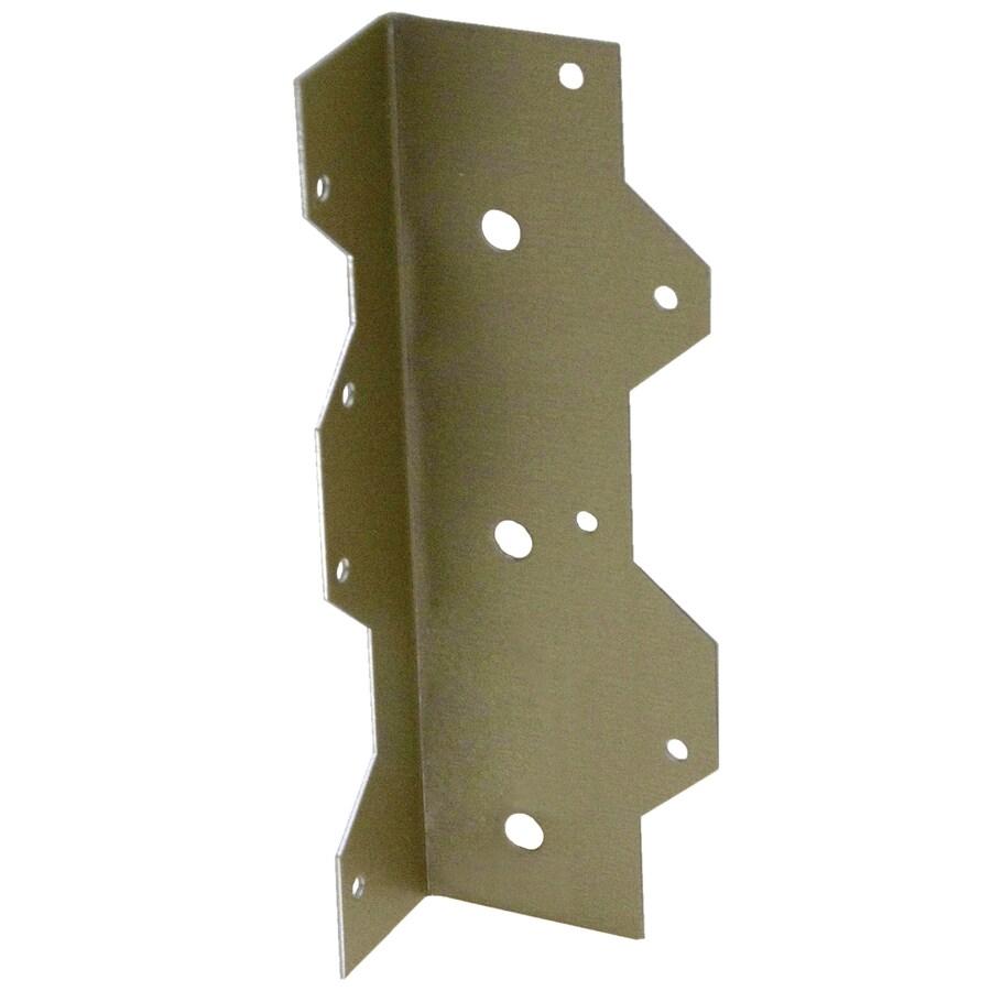 USP 1-5/16-in x 2-3/8-in x 6-15/16-in Gold Coat Angle Clip