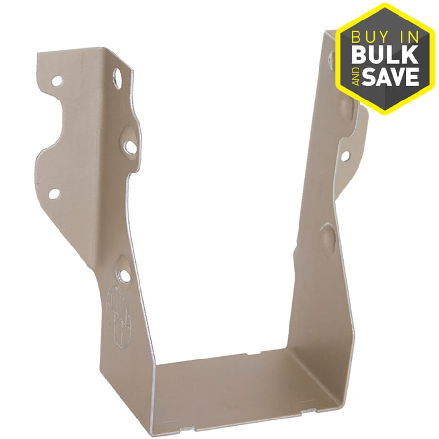 USP Double 2-in x 8-in Slant Nail Joist Hanger Gold Coat