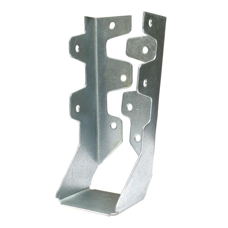USP 2-in x 6-8-in Triple Zinc Inverted Flange Face Mount Joist Hanger