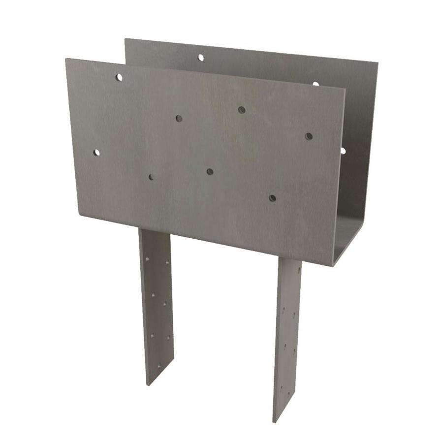 USP Steel Painted Post Cap (Common: 6-in; Actual: 11-in)