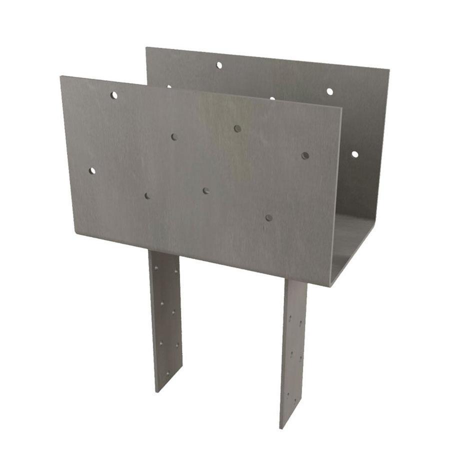 USP Steel Painted Post Cap (Common: 6-in; Actual: 5.5-in)
