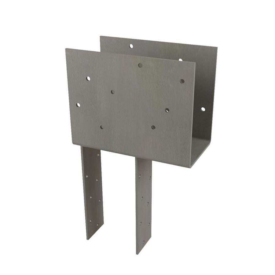 USP Steel Painted Post Cap (Common: 4-in; Actual: 3.625-in)